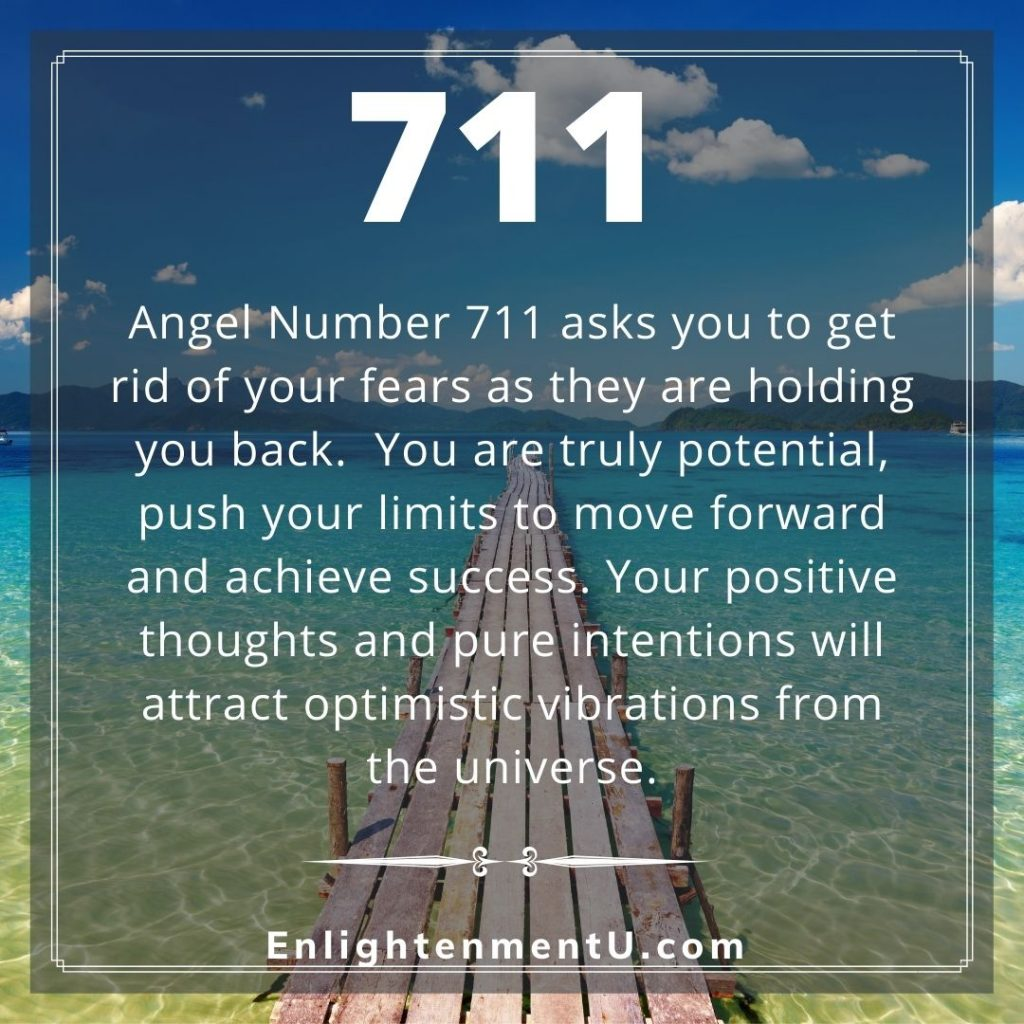 Meaning of 711 Angel Number
