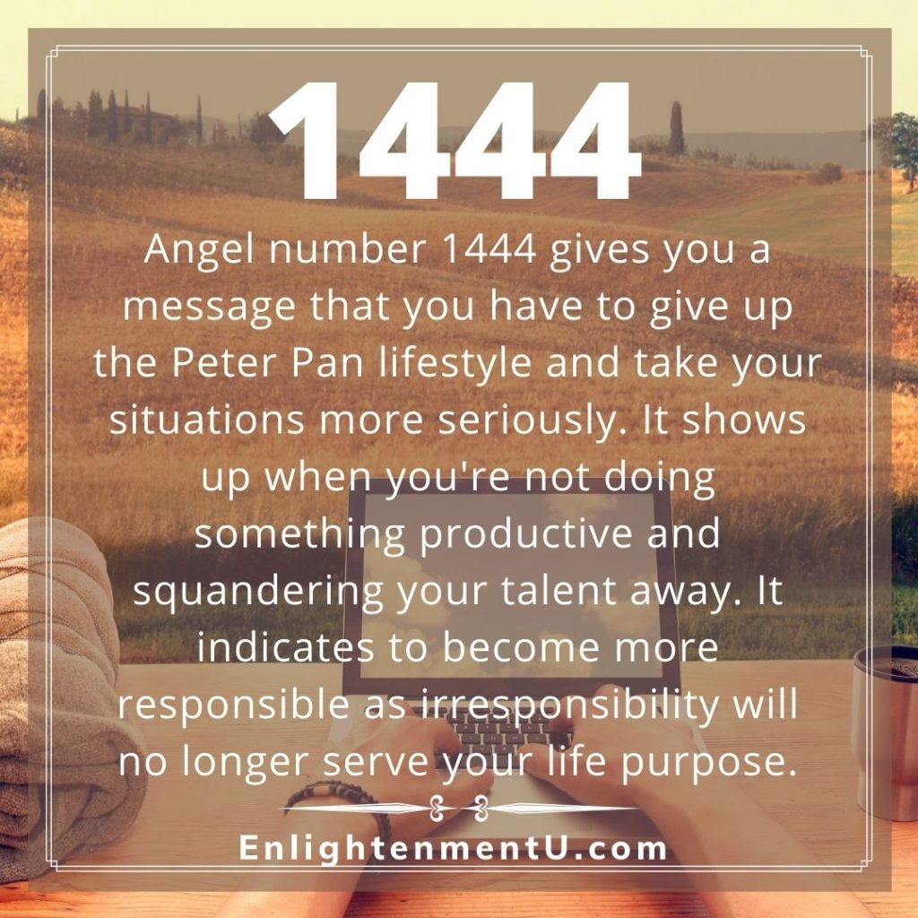Meaning of 1444 Angel Number