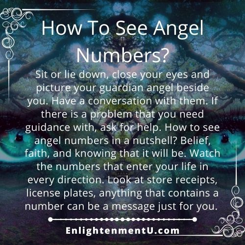 How To See Angel Numbers? | How Do You See Angel Numbers?