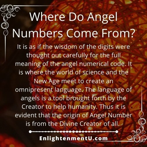 Where do Angel Numbers come from? | Where did Angel Numbers come from?