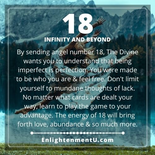 Seeing 18 Angel Number Meaning